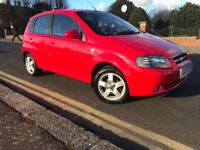 59k,1YRS MOT,2007-REG 1.4CHEVROLET KALOS IN RED DRIVES LOVLEY IDEAL FIRST CAR OR LITTLE RUN A ROUND