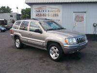 2001 Jeep Grand Cherokee Limited 4x4 cuir mag