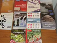 10 Textbooks used for CIPD Level 7 course completed this year
