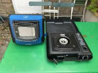Camping stove and heater