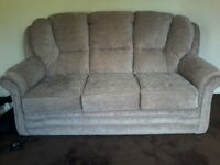 BRAND NEW 3 SEATER AND 2 SEATER SOFAS, WITH RECEIPT UNWANTED ANNIVERSARY GIFT