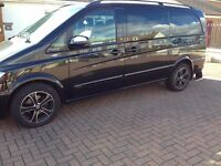 Mercedes Viano Ambiente 2.2 ,2011 Reg. 82000miles, Automatic, Diesel, black alloys, FSH, 7 seater