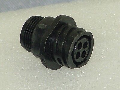 Amp 206430-2 Female Connector For 206429-1 Male Connector
