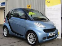 Smart Fortwo 1.0 MHD Passion Softouch 2dr, 1 Lady Owner From New + Fsh