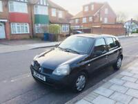 RENAULT CLIO AUTOMATIC 2004/04 LOW MILAGE 1.4 2 OWNERS