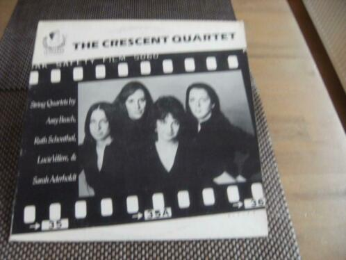 LP - The Crescent Quartet - Quartet for Strings (Amy Beach)