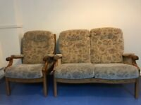 2 seat and 1 armchair set sofa for sale