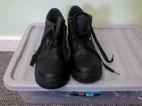 Steel Toe Cap Boots- worn once (Size 10)