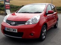 NISSAN NOTE N-TEC 1.5 DCI, 2011 '61 REG, 2 OWNERS, ONLY 42K, FSH, A/C, NEW MOT, ONLY £20 TAX, SUPERB