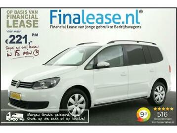 VW Touran 1.6 TDI BlueMotion Airco Cruise PDC Elekpak €221pm