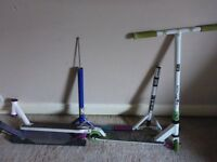 Pro stunt scooter and spares