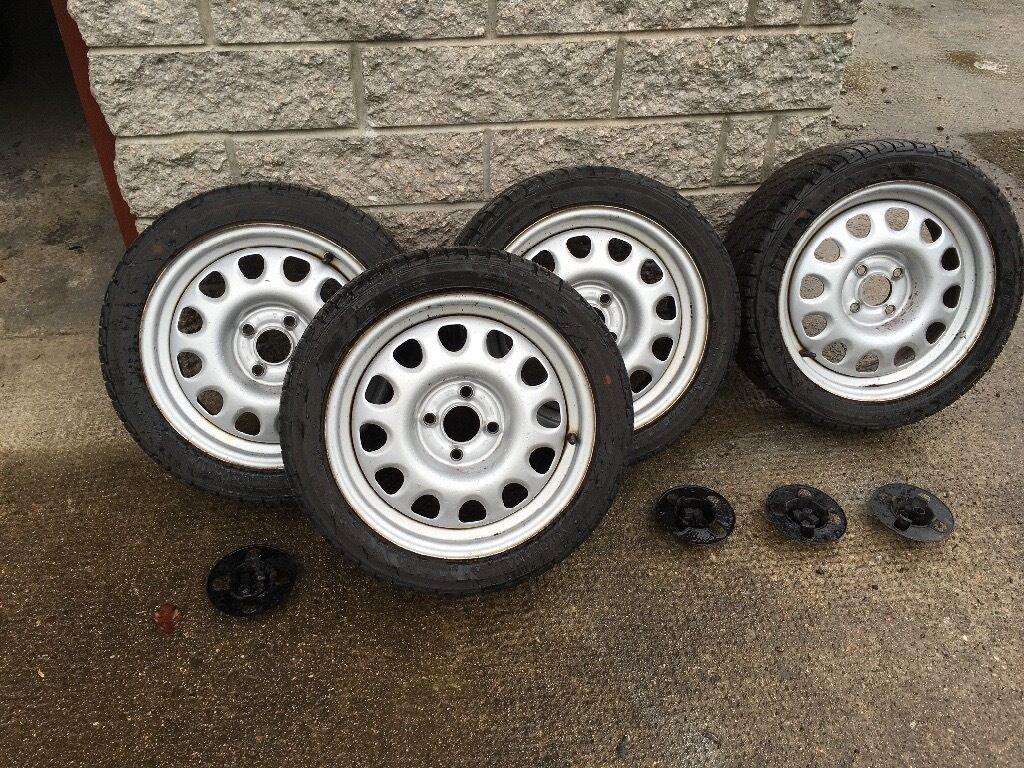 Volkswagen G60 Steel Wheels 15 Quot In Kingswells Aberdeen