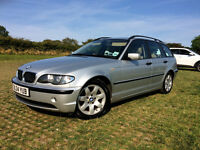 BMW 320D SE Touring 2004 Leather/Sat Nav/Bluetooth/Harman Kardon Speakers +++