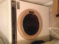Apartment size washer and dryer!