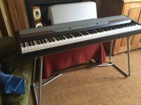 Korg SP250 88 Key digital piano in black