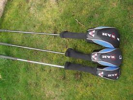 Ram golf clubs 1-3-4