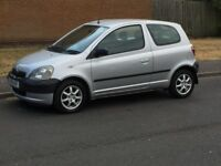 !!!toyota Yaris 1.0 manual with mot solid car cheap to run insure £395 no offers