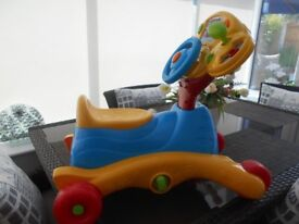 VTECH Grow and Go Ride On Trike