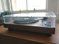 Hitachi PS-8 belt-driven turntable + Behringer pre-amp