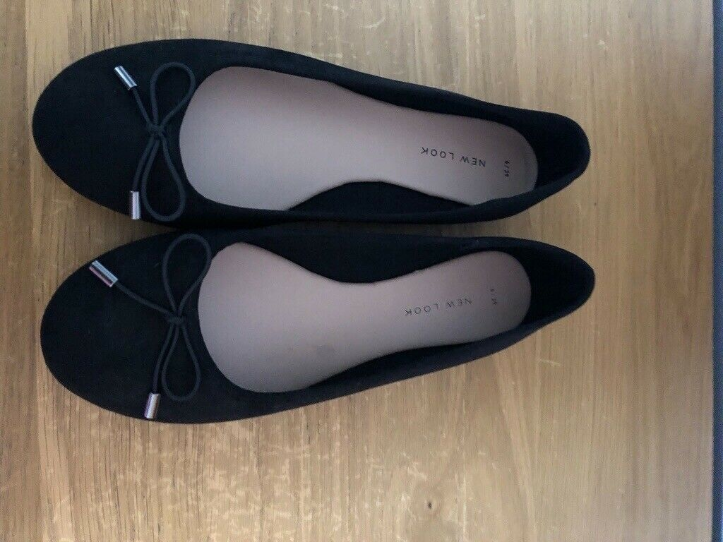 6c4a193fe3 New Look Black Ballet Pumps Size 6 | in Guildford, Surrey | Gumtree