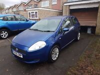 FIAT PUNTO DYNAMIC 1.4petrol, manual, 3dr ONE OWNER FROM NEW!!!