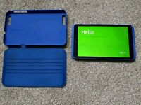 Hudl 2. 16 GB 8.5in android tablet + case. Great condition.