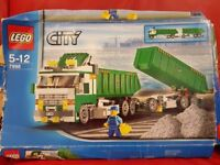 Lego City Construction 7998 Heavy Hauler Truck and Trailer - Complete