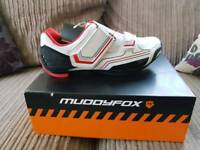 Muddyfox Cycling Shoes (unused) Size 8
