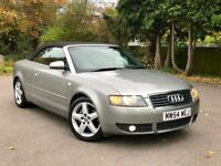 2005 Audi A4 Cabriolet Sport, Full Service History, Convertible not bmw mercedes volkswagen vauxhall