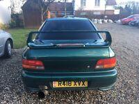 Subaru Impreza 1997 uk model