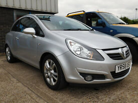 Vauxhall Corsa 1.2 i 16v SXi 3dr Nice example of Vauxhall Corsa in new shape in silver