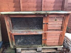 Rabbit hutch 2 storey FREE! collection Hedge End