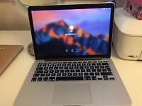 MacBook Pro Retina 13, 128 GB, intel i5, 2.6 GHz, late 2014