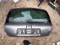 Renault Clio MK2 II Rear Tail Gate / Boot Door NV603 Medium Grey