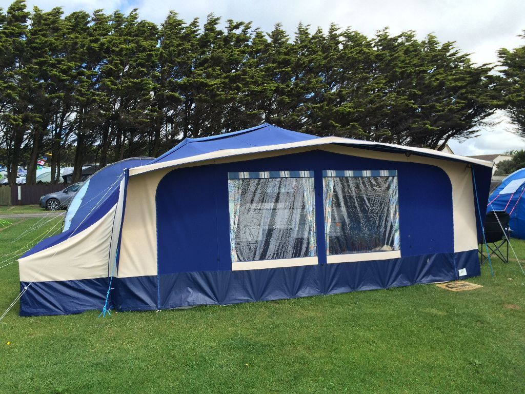 Conway Crusader Folding Camper 6 Berth Awning Included