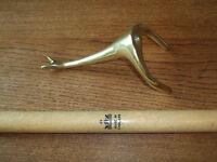 Cue Rest - Brass Swan Neck on a Peradon Shaft