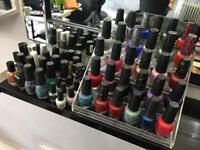 Job lot nail varnishes