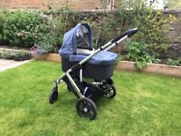 2015 Uppababy Vista Travel system complete in great condition