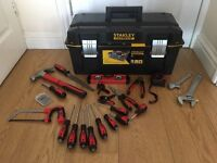 "STANLEY FATMAX 23"" TOOL BOX AND FORGE STEEL TOOLS *ALL BRAND NEW* COLLECT ROMFORD RM5 DIY BUILDING"