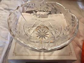 New fuchsia crystal bowl