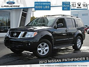 2012 Nissan Pathfinder **S*AUTOMATIQUE*AWD*7 PASSAGERS*CRUISE*A/