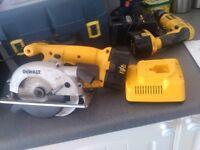 DeWalt 14.4 volt circular saw