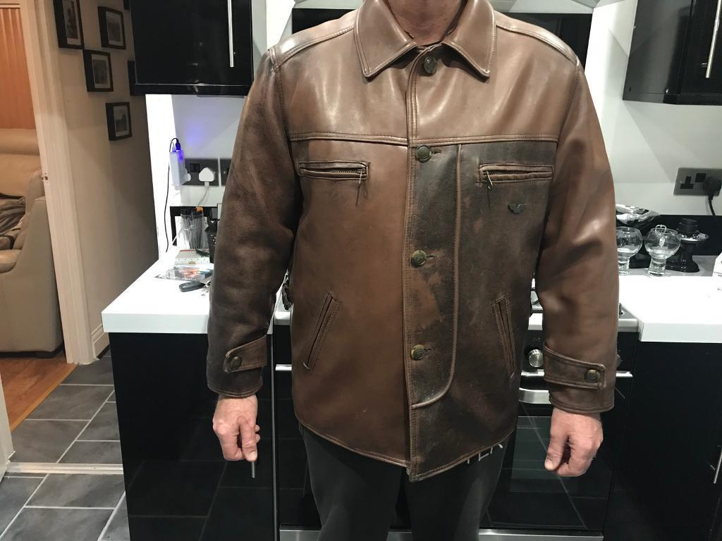 87b1650fcd3 R.G.A ITALAIN FAUX SOFT LEATHER ( tan brown ) extra L | in Southend-on-Sea,  Essex | Gumtree