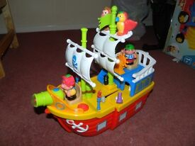 Pirate Ship with lights and sounds