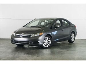2012 Honda Civic EX (A5) CERTIFIED Finance for $36 Weekly OAC