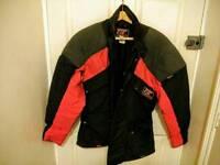 TT leathers motorcycle jacket.
