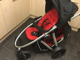 Phill and Teds pushchair with double kit