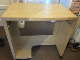 Desk ideal for student, home office, sewing or crafts
