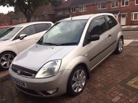 Ford Fiesta 1.4 Limited Edition Silver 2003 - Full Leather Interior