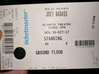 Joey Bada$$ tickets - Standing